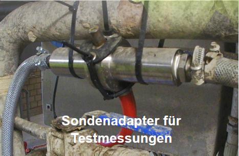 Sondenadapter für Testmessungen